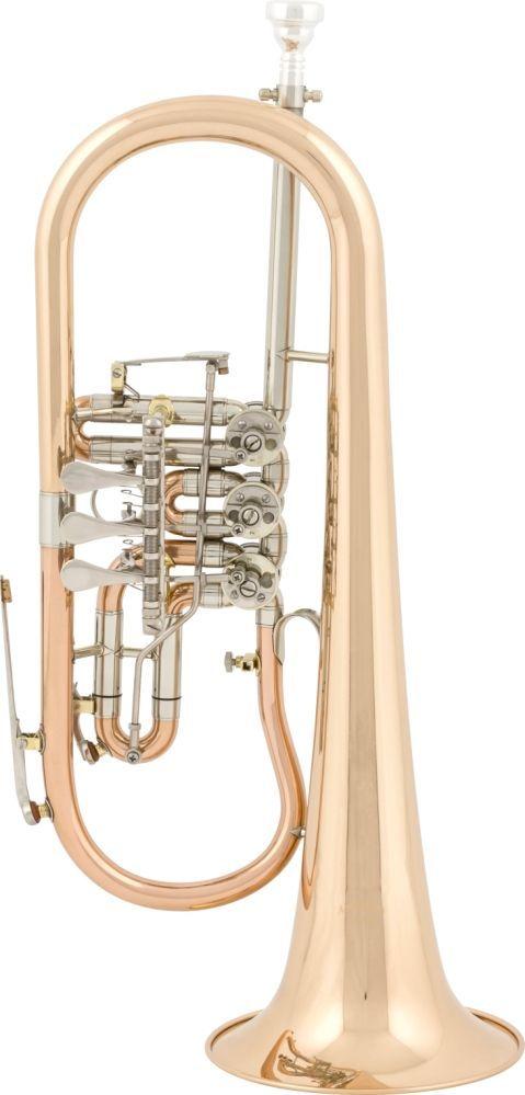 aS Arnolds & Sons AFH-4050 Konzert-Flügelhorn Goldmessing, Bohr.11,20mm