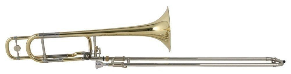 Bach TB-502B B/F--Tenor-Posaune, Bohrung 13,34mm, Quartventil, incl. Etui + Zub.