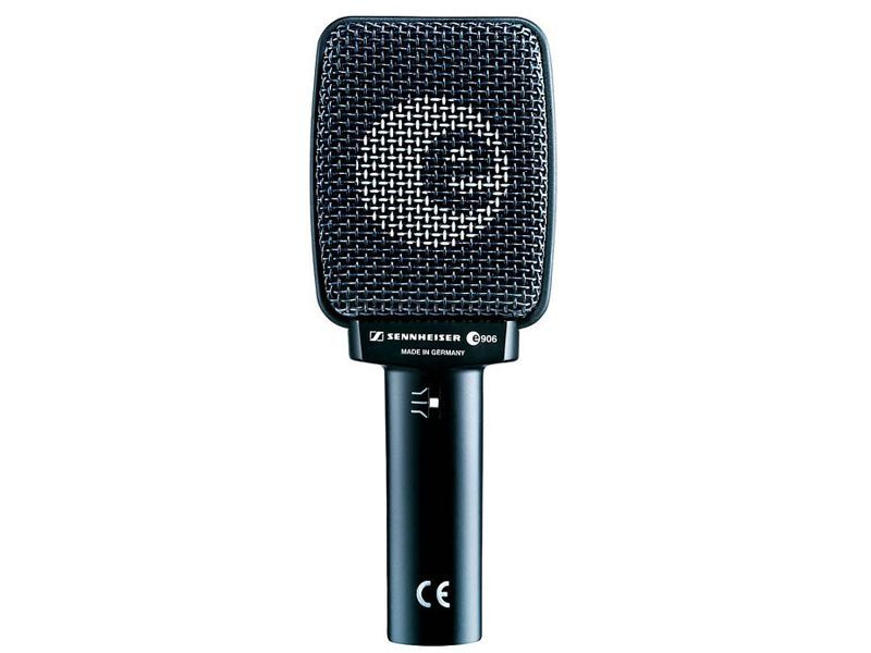 Sennheiser e 906 Instrumenten-Mikrofon für Ampabnahme, dynamisch, Superniere