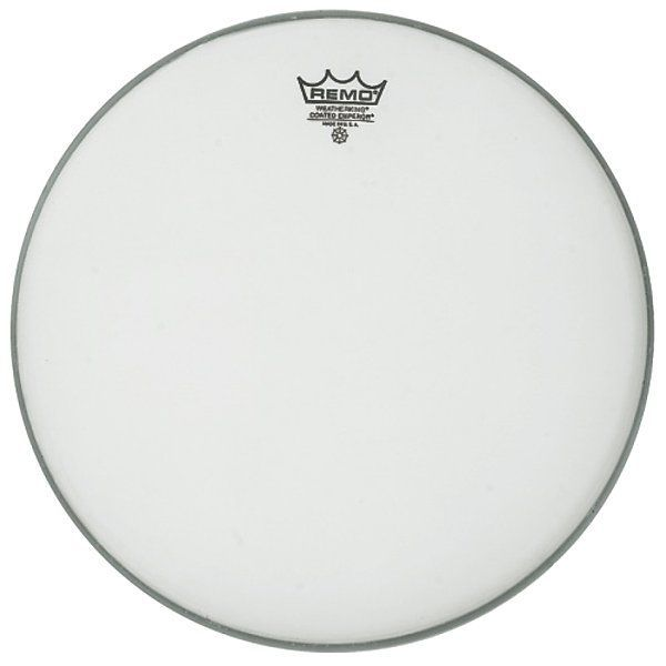 """Remo 14"""" Emperor coated Tomfell doppellagig weiss BE-0114-00"""