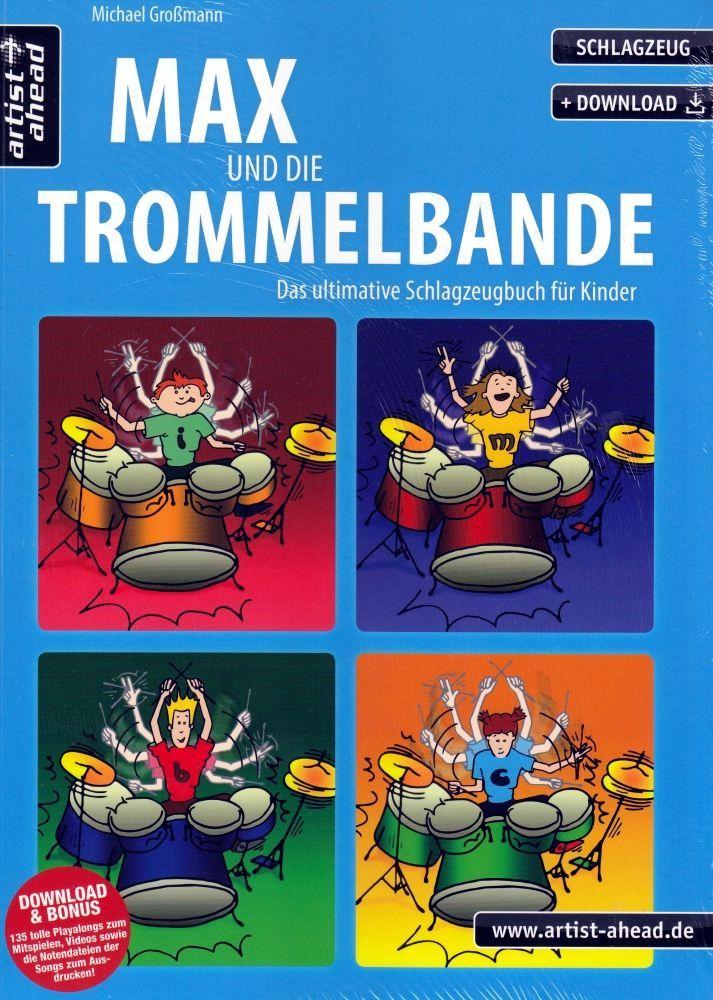 Noten Max und die Trommelbande Schlagzeugbuch für Kinder