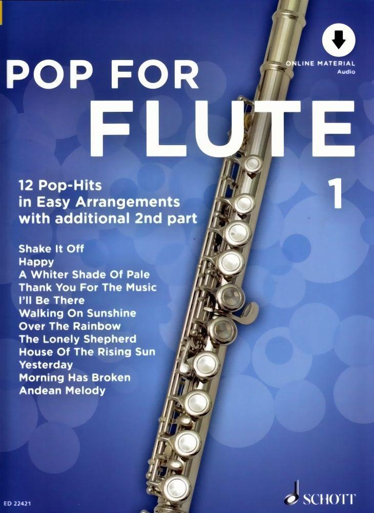 Noten Pop for flute 1 ED 22421 für Querflöte incl. downloadcode zum playback