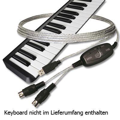 C-LAB USB-MIDI Interface USB MIDI Adapter Midi USB Adapter