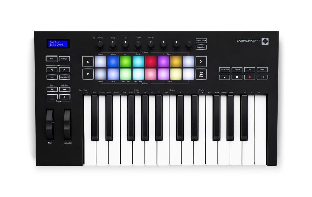 Novation Launchkey 25 MK3 USB/MIDI Controller Keyboard