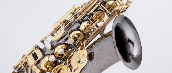 Chateau Altsaxophon CAS50 CBL, Powerbell Schallstück, Black Chrome / GL