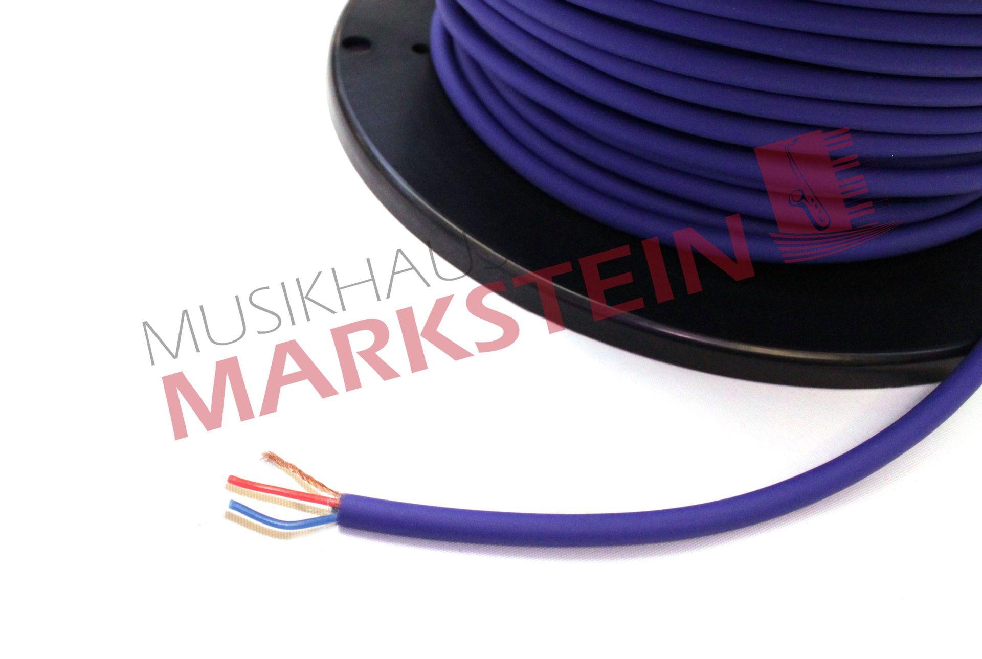 NF-Kabel, symmetrisch, Meterware Blau