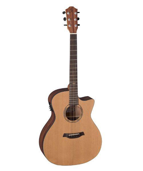 Baton Rouge AR11 C/ACE-W  Akustikgitarre mit Tonabnehmer 48mm Sattelbreite
