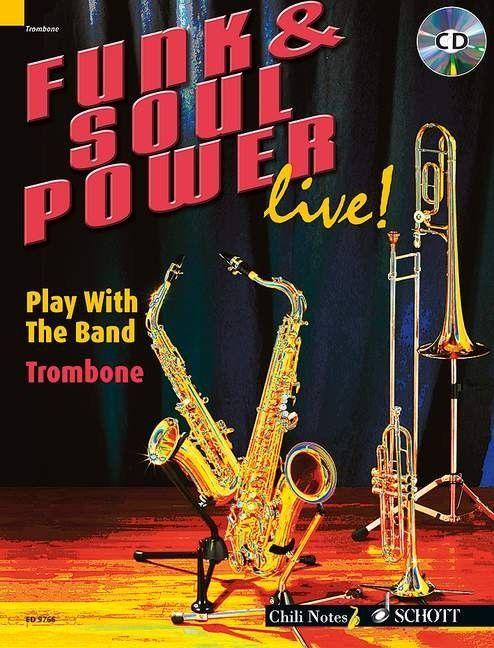 Noten Funk & Soul Power live! incl. CD für Posaune ED 9766