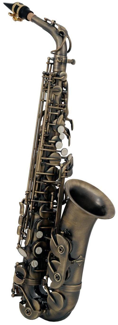 Roy Benson AS-202A Altsaxophon Antique / Vintage  AS202A, incl. Etui u. Zubehör