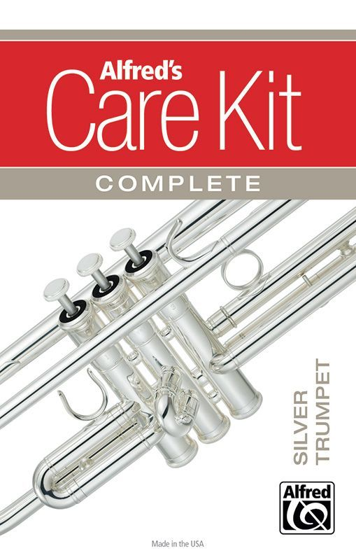 Care Kit Pflegeset für SILBER Trompete Alfred Verlag 99-1478517    038081478517