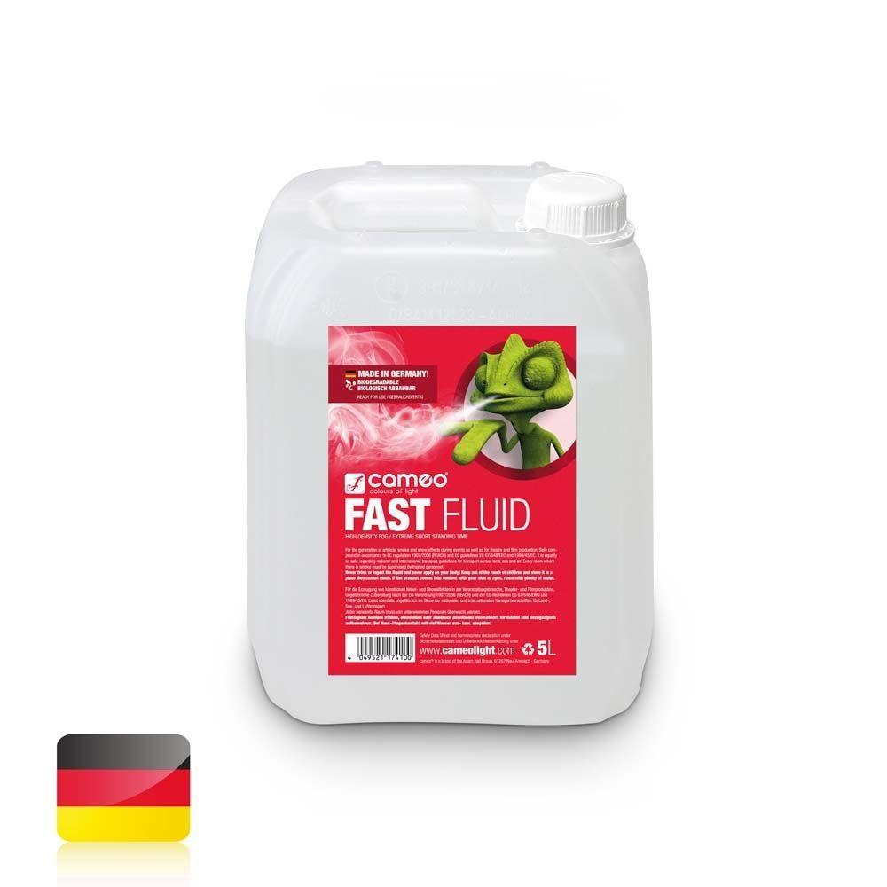 Cameo FAST FLUID 5L Nebelfluid mit sehr hoher Dichte und sehr kurzer Standzeit 5