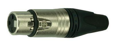 XLR Neutrik NC3FXX, XLR Stecker, female