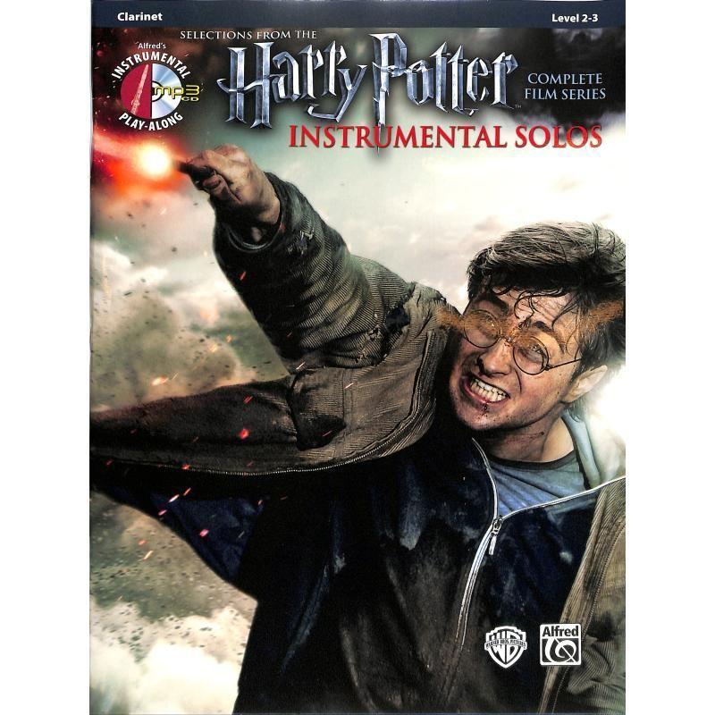Noten Selections from Harry Potter Klarinette ALF 39214  incl. CD zum Mitspielen