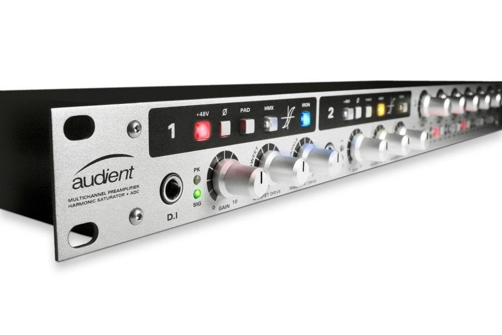 Audient ASP800 8 Kanal Class-A Mikrofonvorverstärker und A/D Wandler Mic Preamp