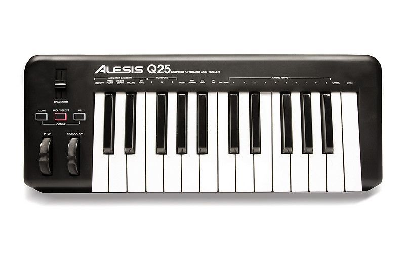 Alesis Q25 USB Midi Keyboard - Retoure / 1x ausgepackt