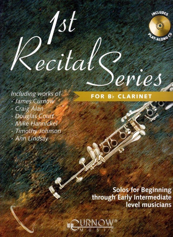 Noten Vortragsstücke First recital series Klarinette incl. CD HASKE -CMP0685