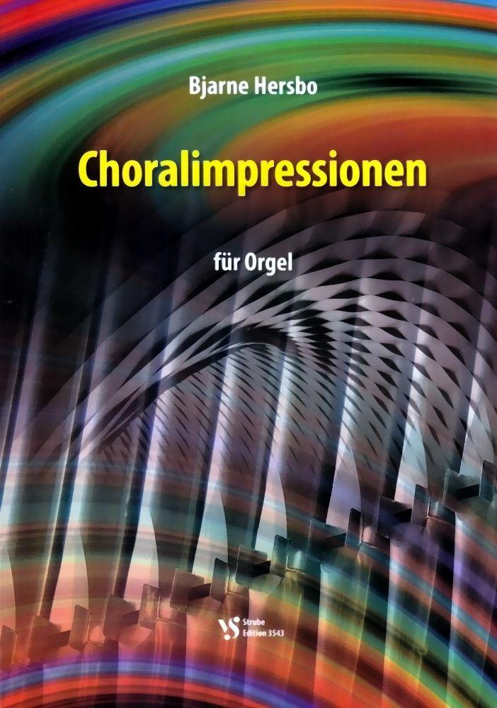 Noten Choralimpressionen Bjarne Hersbo Strube 3543