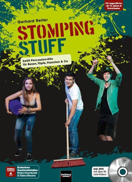 Noten Stomping Stuff inkl. DVD Helbling Gerhard Reiter HELBL -S7253