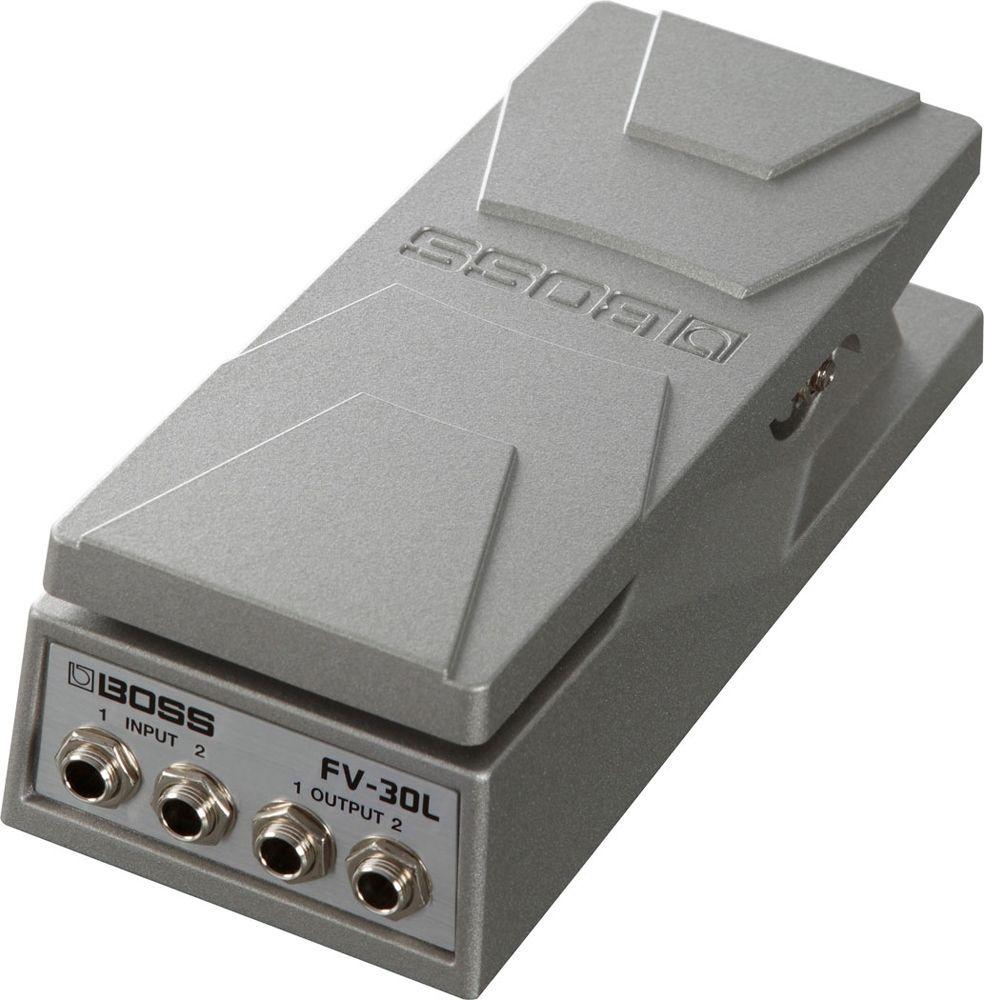 Boss FV-30L Volume Pedal, Kompaktversion, stereo