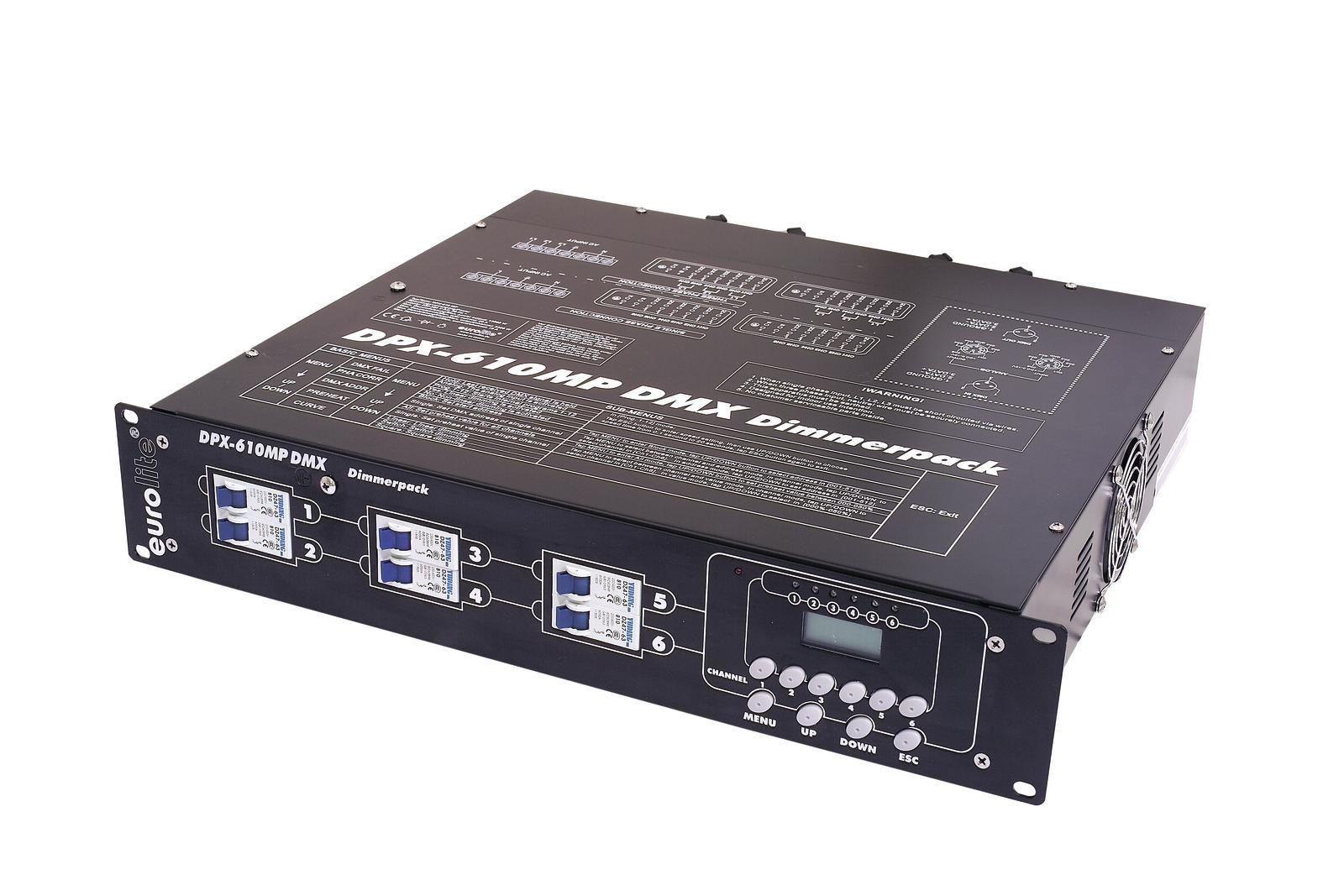 EUROLITE DPX 610 MP DMX Dimmerpack