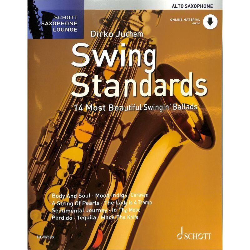 Noten SWING STANDARDS Juchem Dirko incl. download playback Altsax ED 20753D