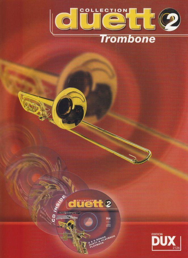 Noten Duett Collection 2 - Posaune Trombone incl. CD DUX 2126