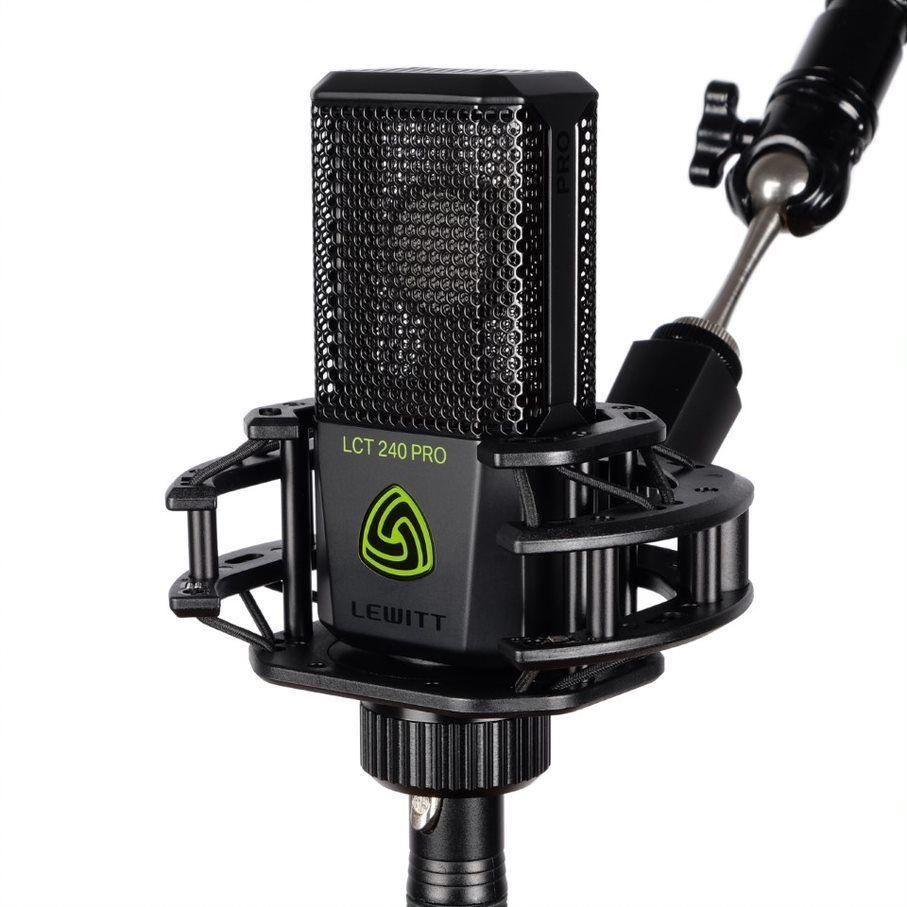 Lewitt LCT 240 PRO BK SET Studio Kondensatormikrofon inkl. Spinne, Farbe:schwarz