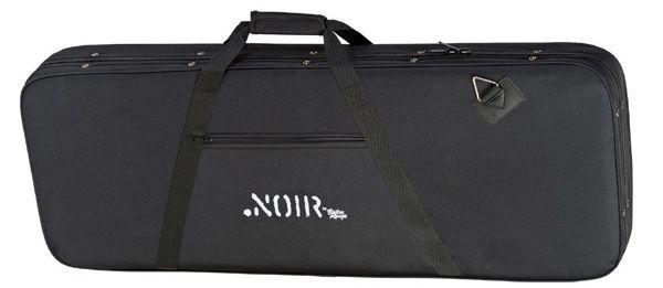 Softcase für E-Bass, E-Basskoffer, Koffer für Bassgitarre mit Mittelgurt