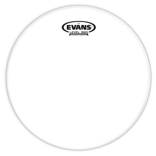 """Evans G1 Clear 14"""" einlagiges Tomfell klar TT14G1"""