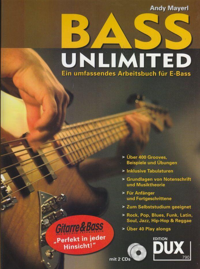 Noten Bass unlimited Ein umfangreiches Arbeitsbuch DUX 790 Markstein Notensuche