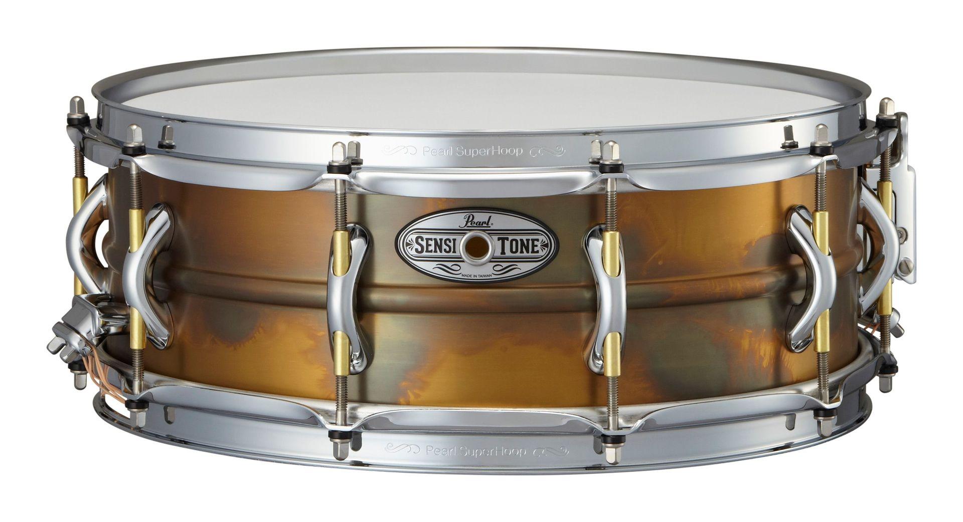 Pearl STA-1450FB Sensitone Premium Snare beaded brass Messing