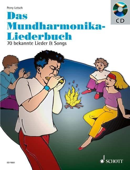 Noten Mundharmonika Liederbuch 70 schöne Songs Schott ED 9881
