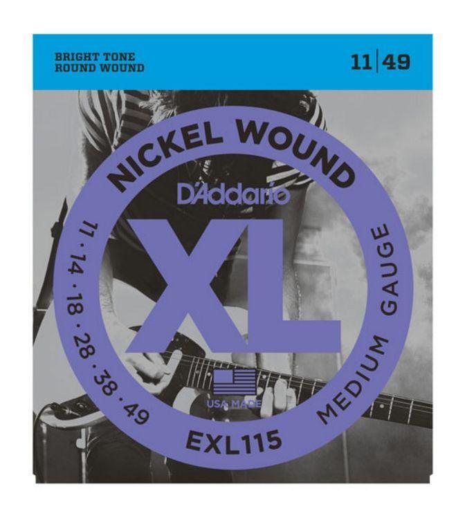 D'Addario EXL115 E-Gitarren Saiten .011-.049