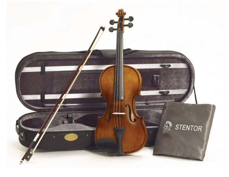 Stentor Violine Graduate 3/4 SR-1542C  Garnitur mit Koffer u. Bogen