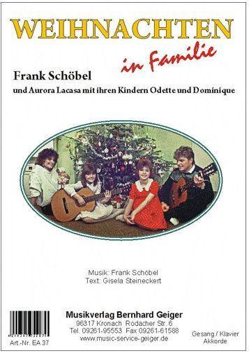 Noten Weihnachten in Familie Geiger NEA 37  Einzelausgabe Frank Schöbel