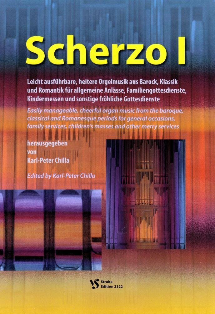 Noten Scherzo 1 I Karl Peter Chilla Strube VS 3322 Orgel Gottesdienst