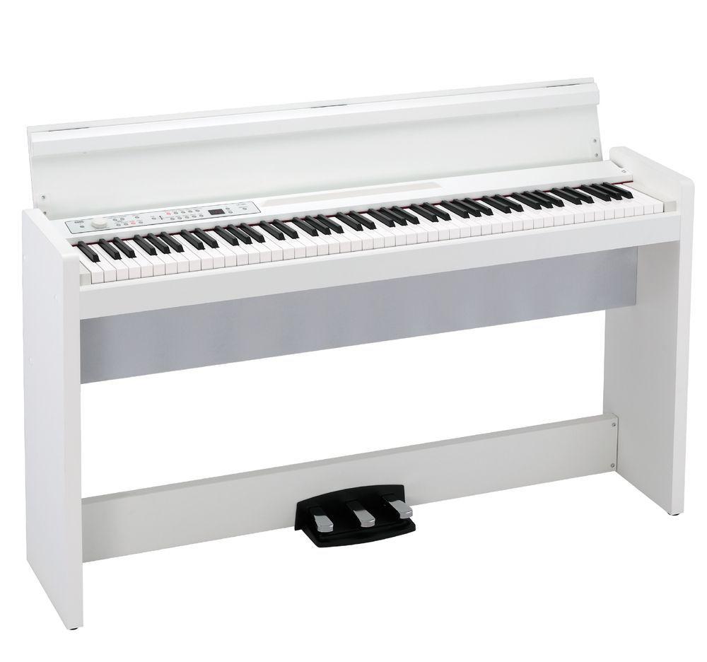 Korg LP-380U WH Digitalpiano weiß matt, Authentisches Flügelerlebnis in kompakt