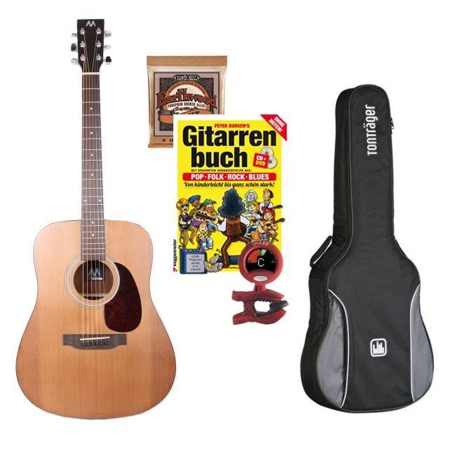 Mark-Westerngitarren SET II, Paket: Gitarre lernen