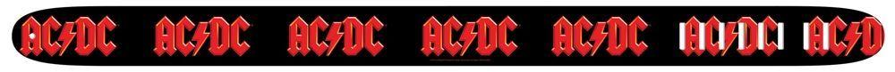 "Perri's Strap 2,5"" AC/DC 6024 Ledergitarrengurt mit AC/DC Logo"