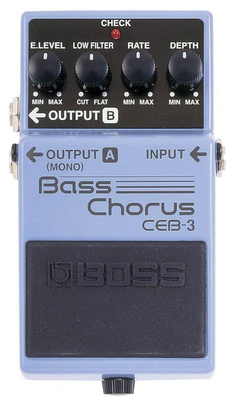 Boss CEB-3 Bass Chorus, Effektgerät für E-Bass