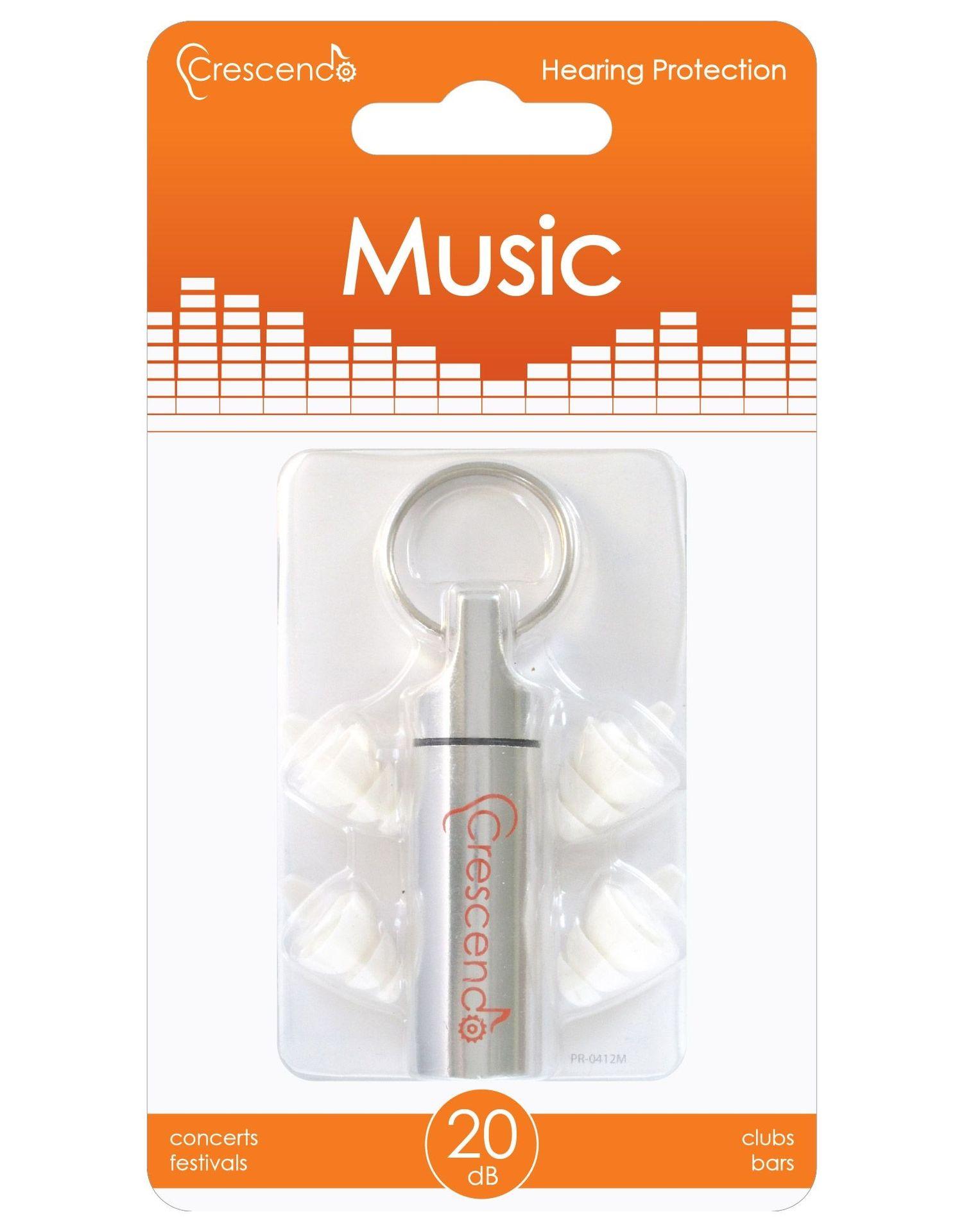 Crescendo Music 20 Ear Plugs
