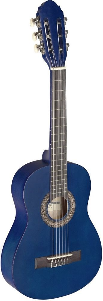 Stagg C-405 M Blue Konzertgitarre, 1/4-Größe blau matt