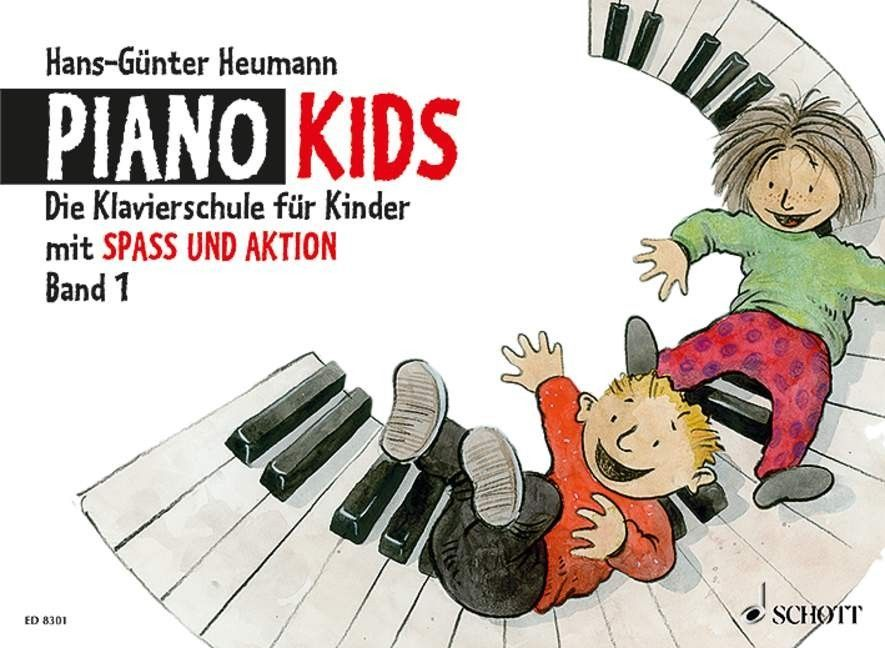 Noten Piano Kids 1 Schule Hans Günther Heumann ED 8301