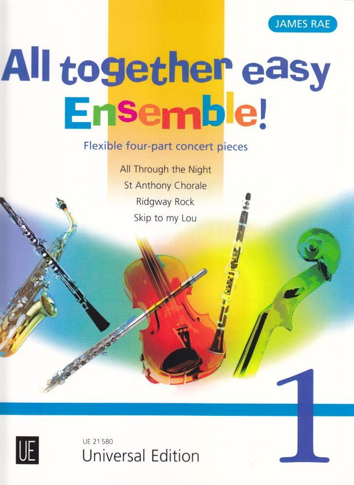 Noten All together easy Ensemble 1 für variable Besetzung James Rae UE 21580