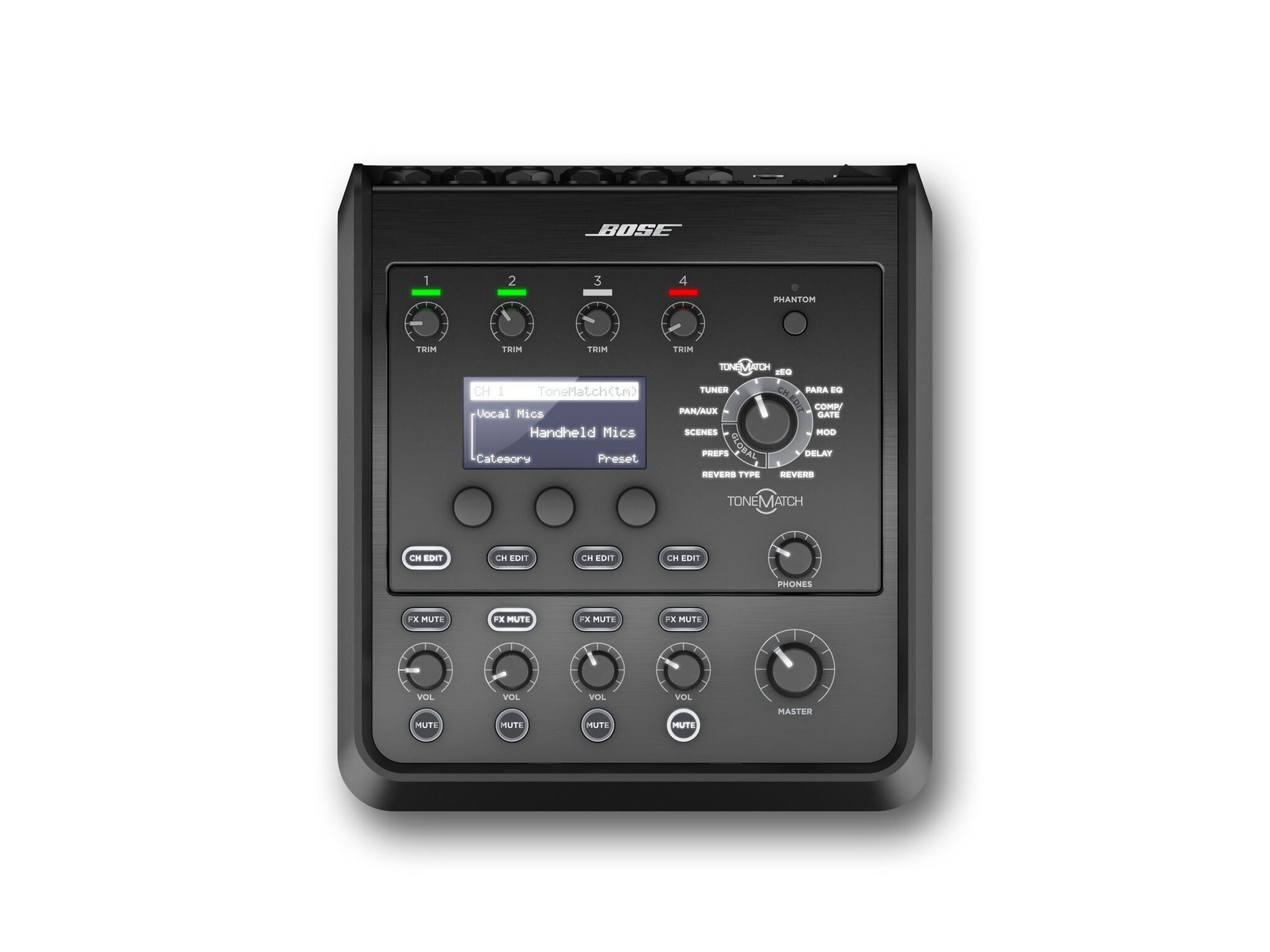 Bose T4S ToneMatch 4 Kanal Digital-Stereo-Mischpult