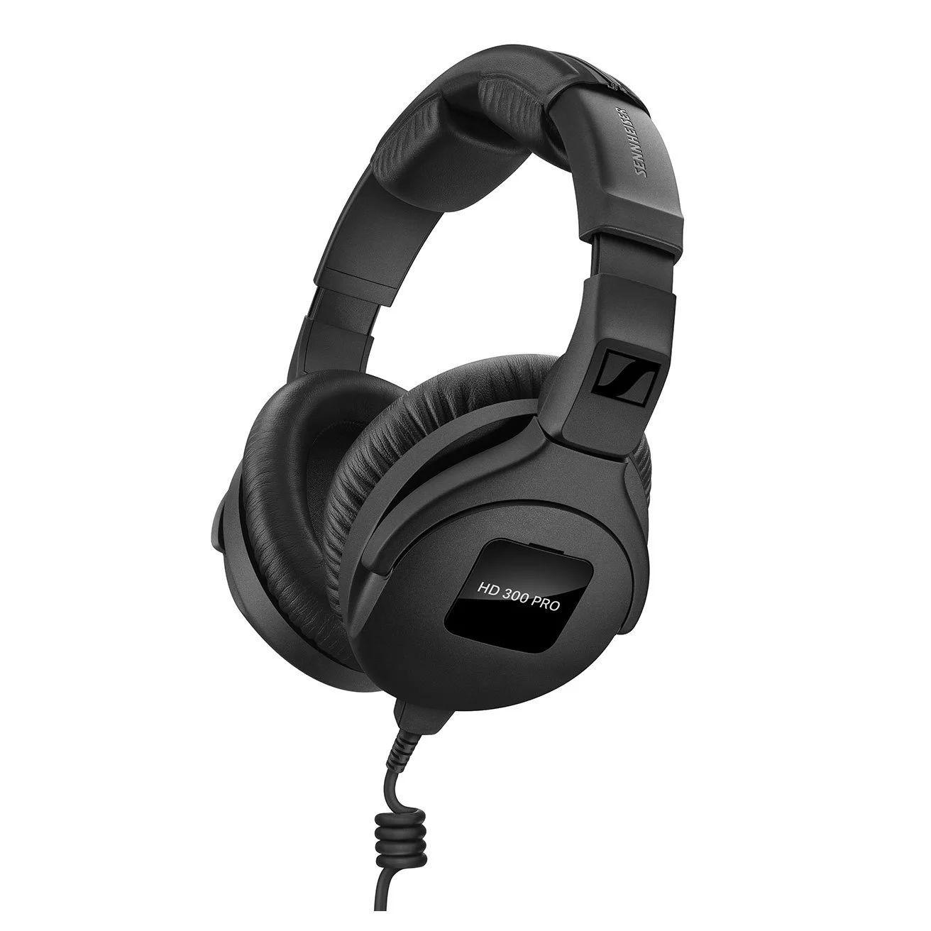 Sennheiser HD 300 Pro Monitorkopfhörer für Studio, Live am Mischpult oder Drums