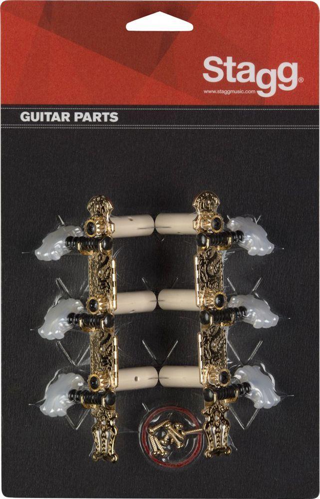 Stagg Mechanik für Konzertgitarre, gold KG360