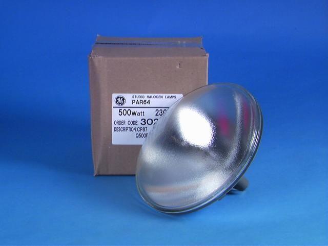 General Electric GE CP87 GE99945, 230V/500W NSP,Glühbirne für Lampe PAR-64