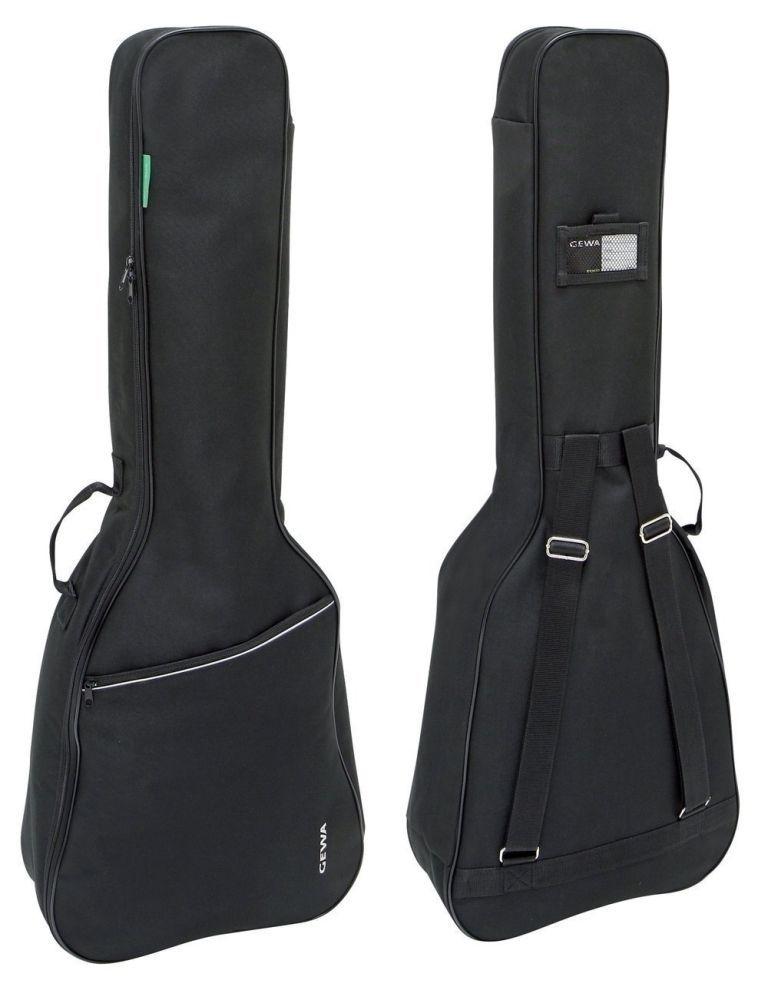 GEWA Gigbag für E-Bass, E-Bass-Tasche Basic mit 6mm Polsterung, schwarz