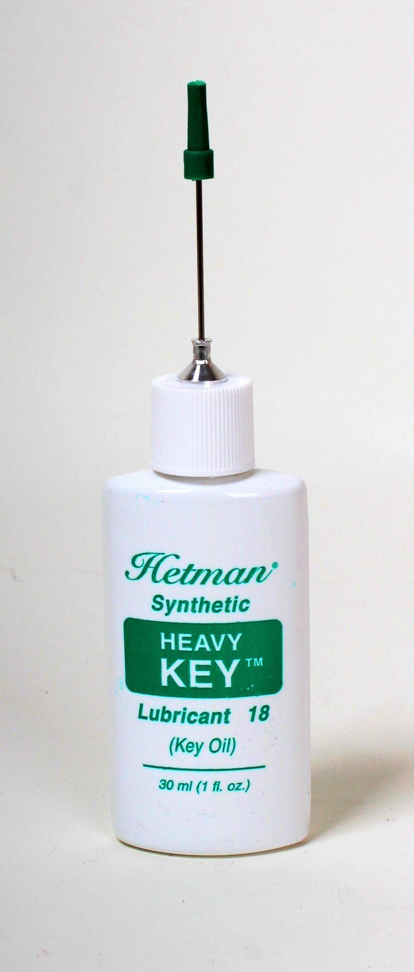 Hetman Nr.18 Klappenöl Heavy für Klarinette, Querflöte, Oboe, Saxophon